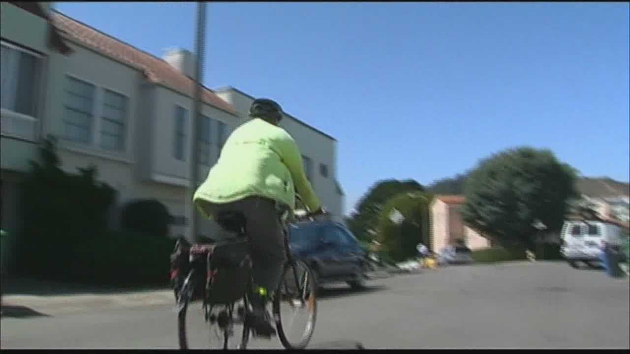 New California law gives cyclists 3-foot buffer.