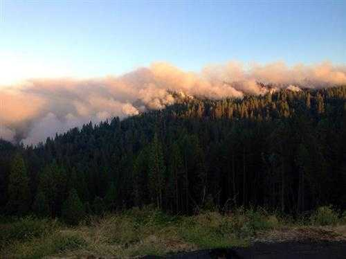 Hundreds of additional firefighters were dispatched to the fire near the town of Pollock Pines, bringing the number fighting the blaze to more than 2,500 personnel.