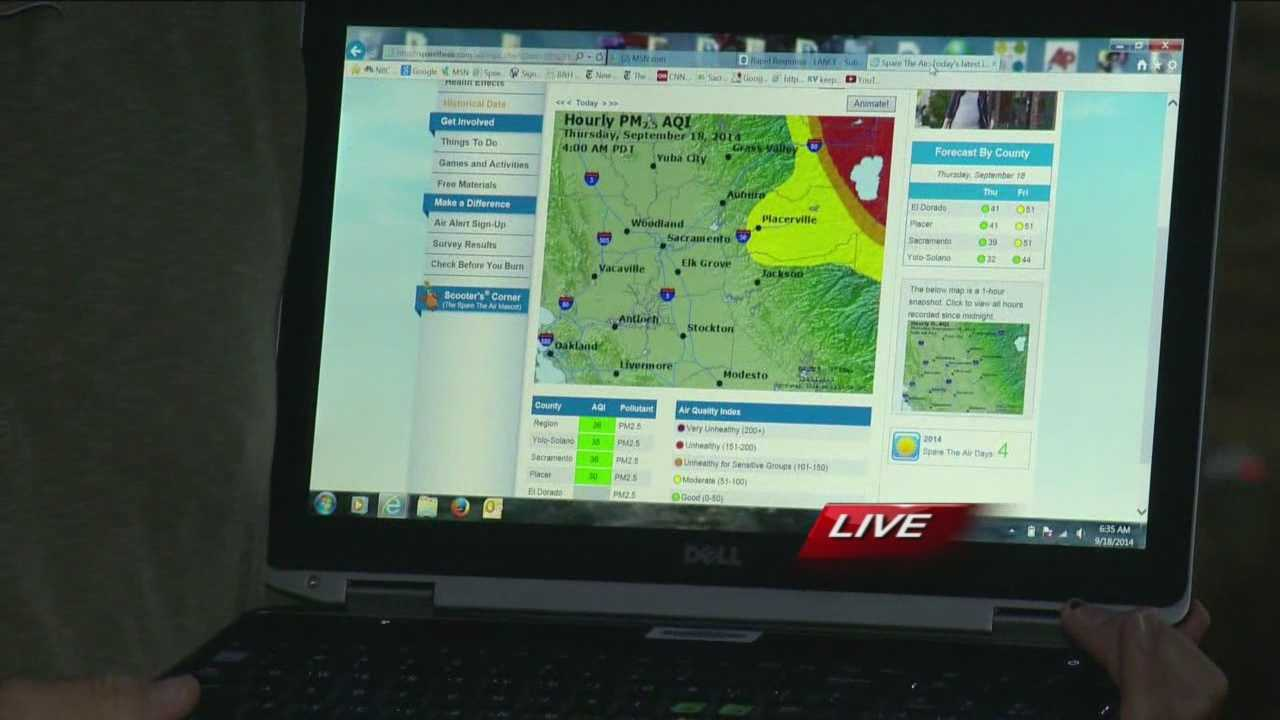 KCRA 3 meteorologist Dirk Verdoorn has the latest air quality numbers for the Lake Tahoe area.