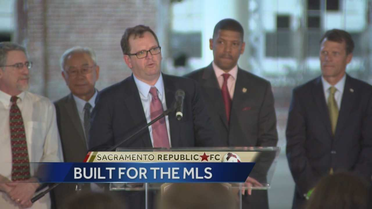 Elk Grove and Sacramento are both vying to get a team franchise from  Major League Soccer.
