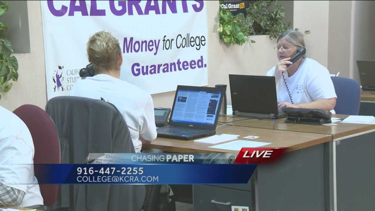 "As part of the Chasing Paper series on college debt, KCRA 3 is kicking off a ""Cash for College"" call-in. Experts will take your questions about student debt and other financial-related issues."
