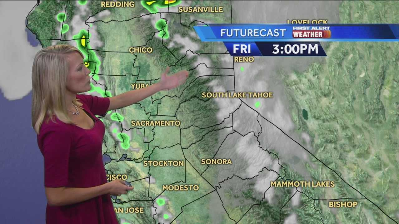 KCRA 3 First Alert Weather meteorologist Tamara Berg looks at some weekend changes.