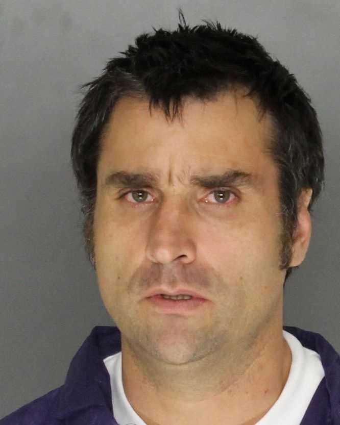 Robert De Los Santos, 43, was arrested on suspicion of starting at least one vegetation fire in Roseville, police said.