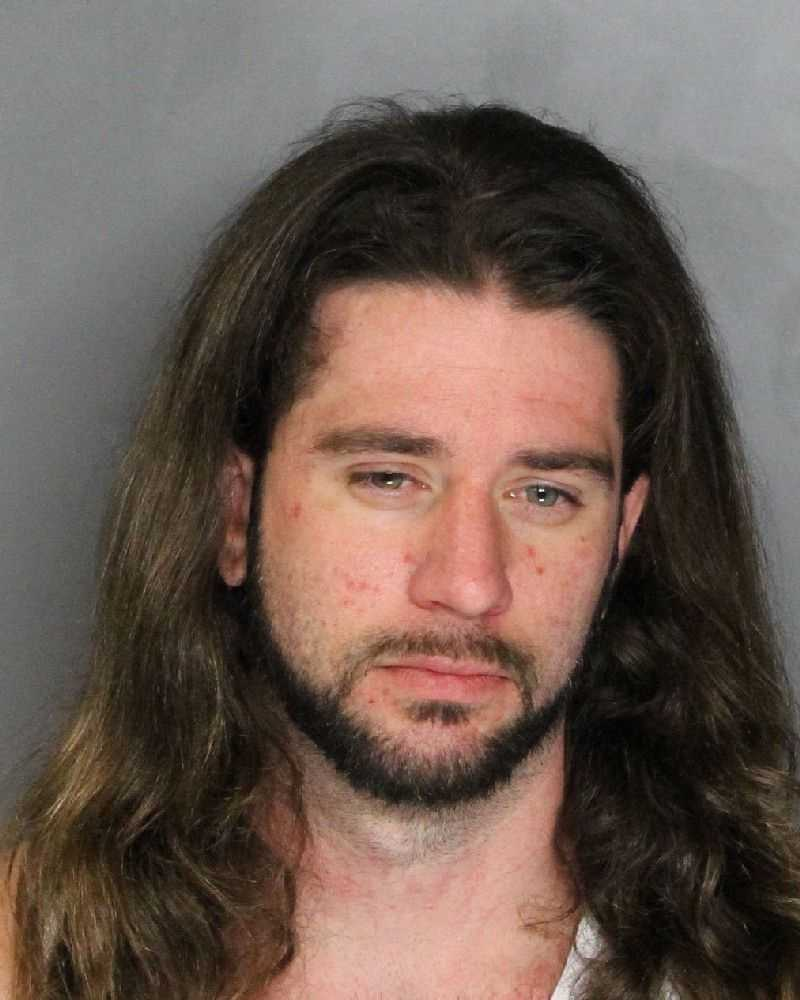 Joshua Holmboe, 25, was arrested on suspicion of selling methamphetamine and narcotics and other related charges, deputies said.