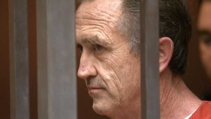 Former Sacramento real estate executive Michael Lyon appears in court (file photo).