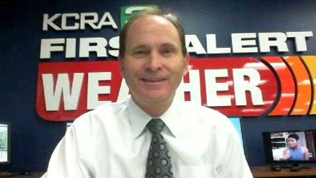 Mark Finan updates the weather for Northern California