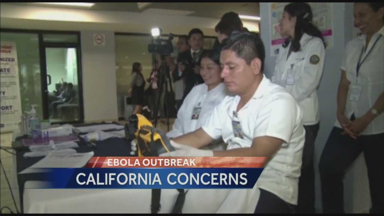 California is making plans on how to treat people if Ebola reaches our state.