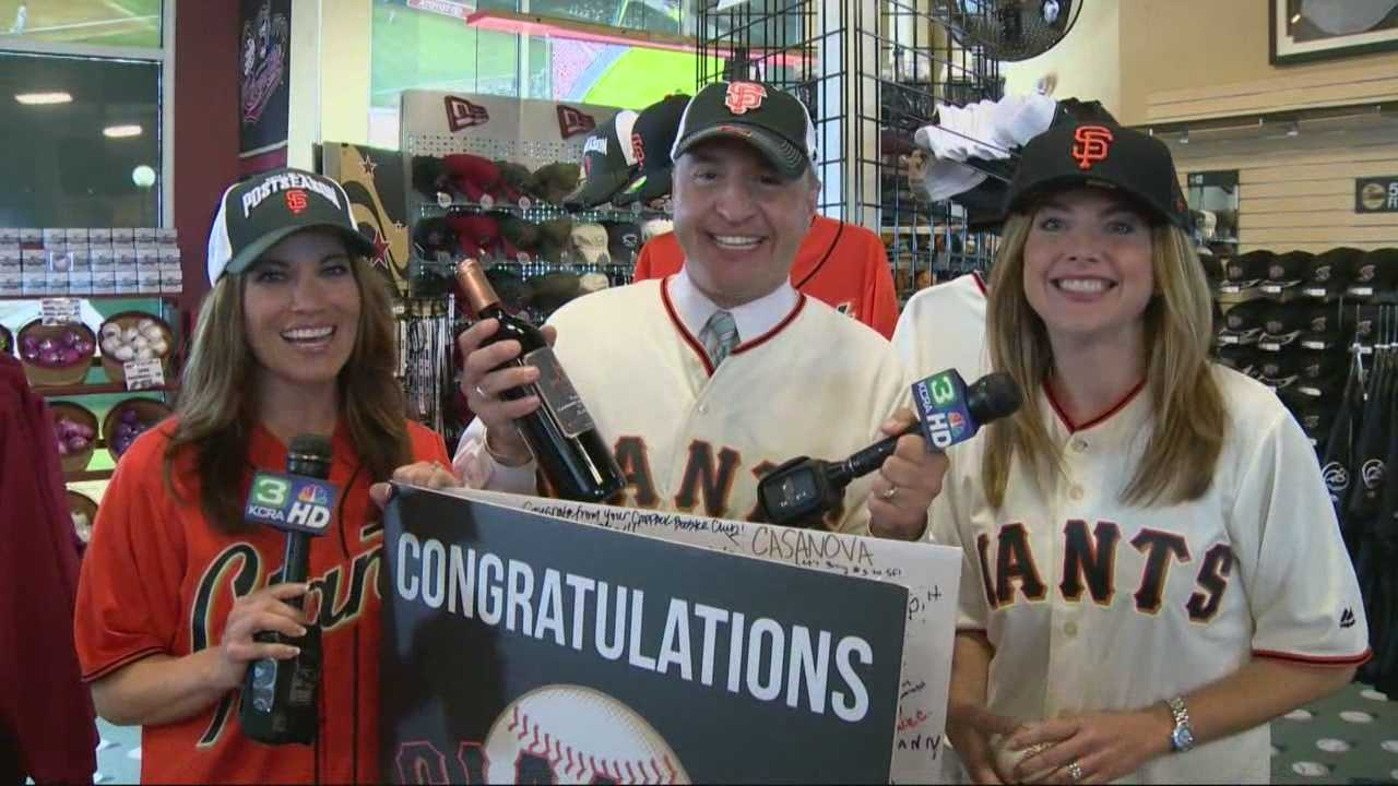 KCRA has accepted a World Series challenge from our Hearst sister-station in Kansas City.