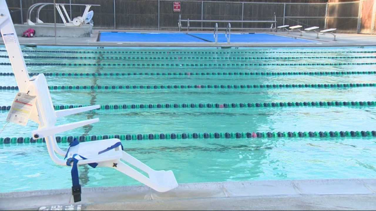 KCRA 3 reporter Kathy Park spoke with the city and residents on Tuesday. Repairs are slated for Nov. 17, but they could be bumped sooner. The pool is leaking thousands of gallons a day.