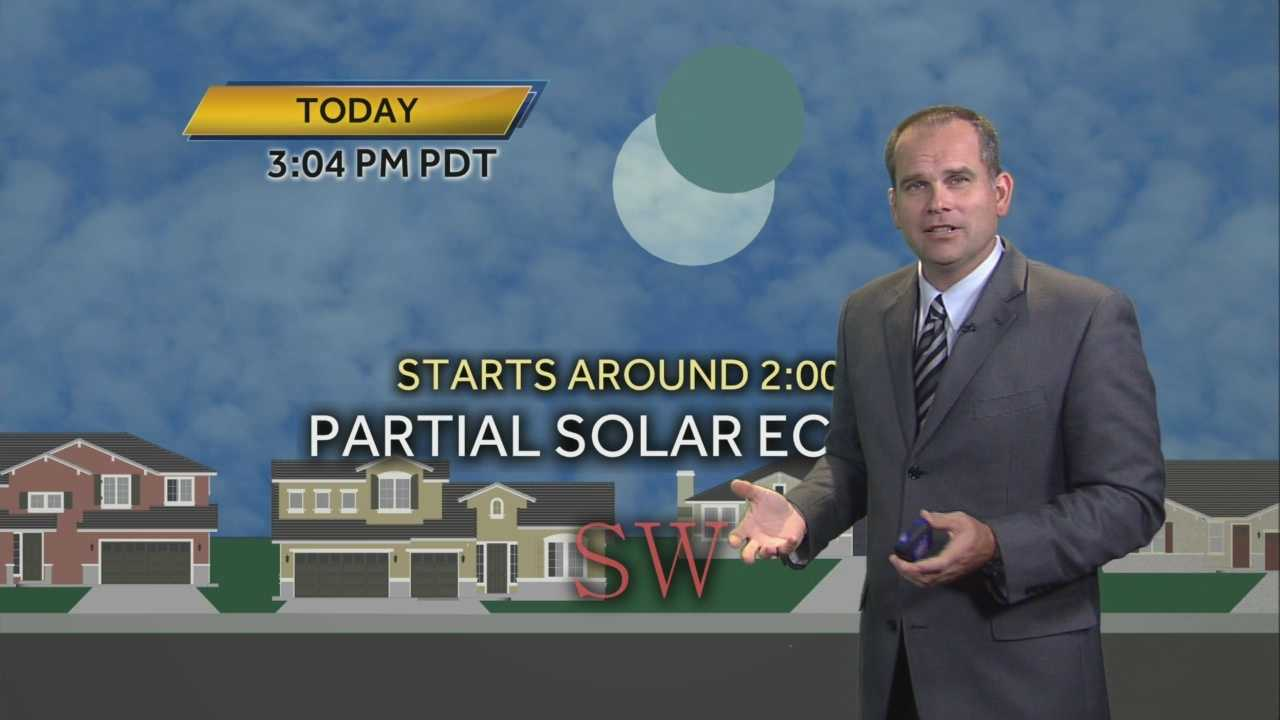 KCRA 3's Dirk Verdoorn offers some tips on how to best enjoy Thursday's partial solar eclipse, which is expected to start around 2 p.m.