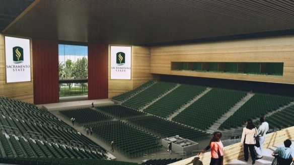 An arena rendering released Thursday (Oct. 23, 2014).
