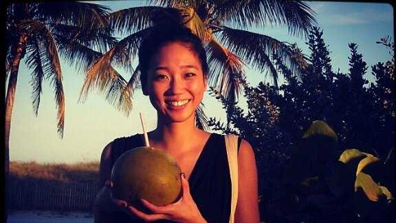 16.) When I'm not working, I always find myself on a warm, sunny beach -- usually with a coconut in hand.