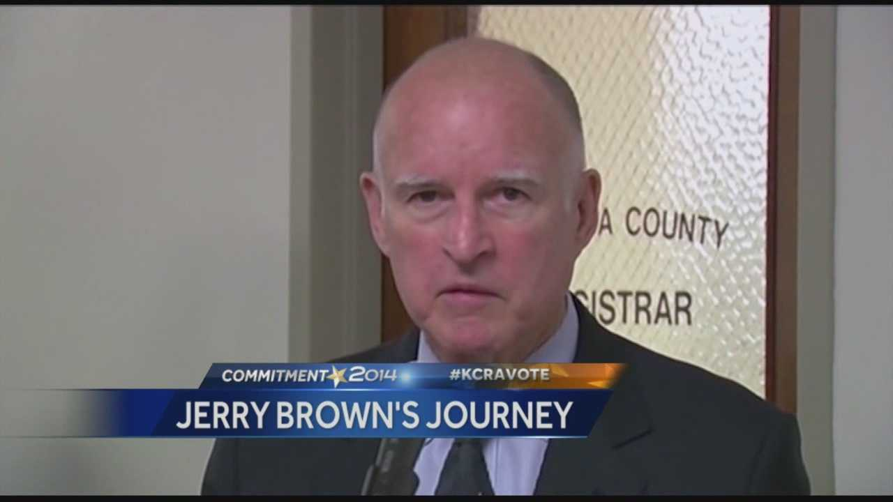 A look at Governor Jerry Brown's political career and his unprecedented 4 term run for California Governor.