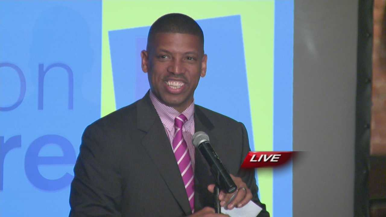 Sacramento Mayor Kevin Johnson told his supporters Tuesday that only about one-third of the votes are in and there is still a long way to go before he concedes to defeat on Measure L.