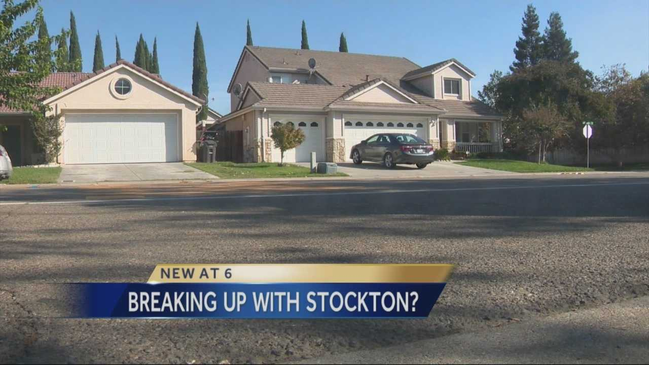 Many residents in Weston Ranch aren't satisfied with Stockton's handling of the neighborhood and want to leave the city for the county.