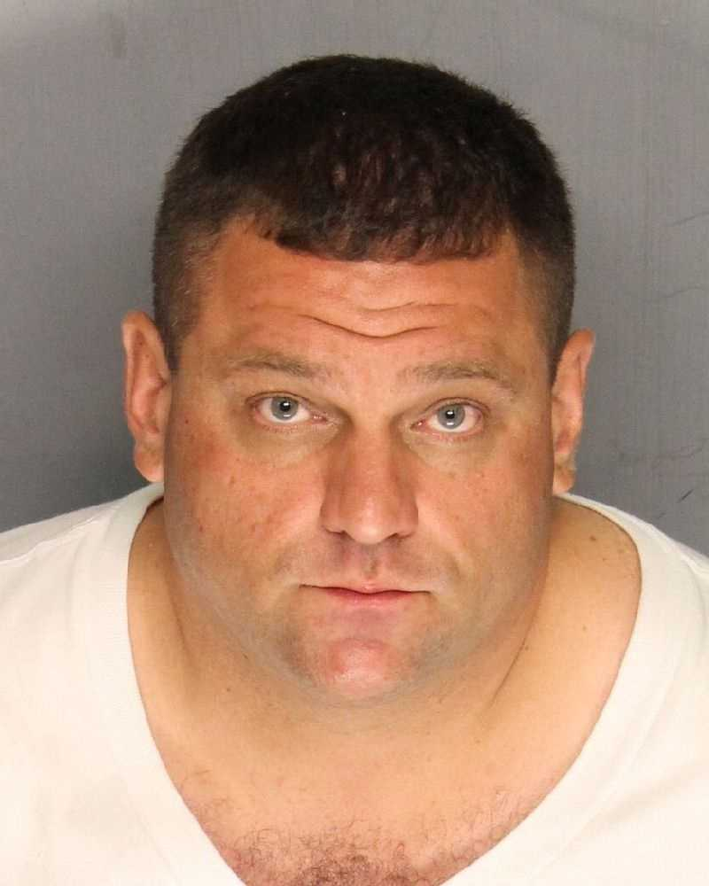 Michael Martin, 34, was arrested on suspicion of carjacking, robbery and resisting arrest, Sacramento police said.