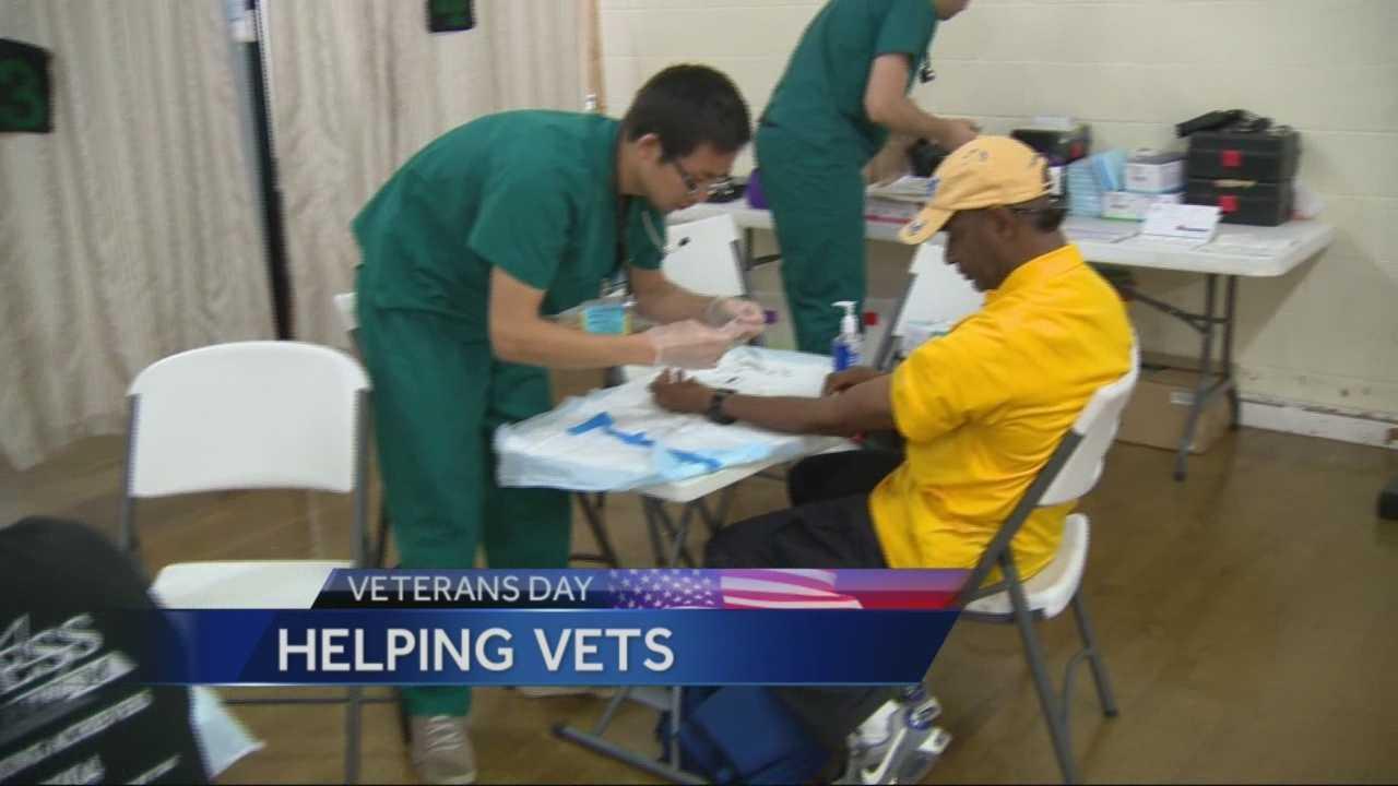 Veterans seek help in dealing with their problems.