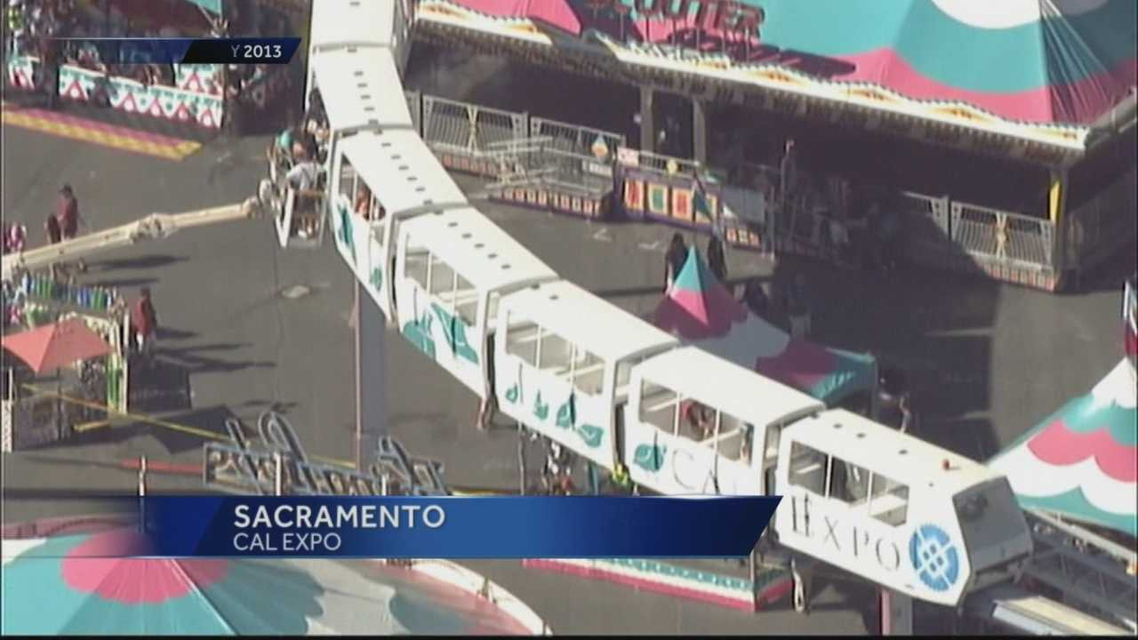 Do you remember when the monorail got stuck at Cal Expo in July 2013, and people had to be removed from the ride? KCRA 3's Kevin Oliver reports that the state of California found a lack of training and safety equipment.