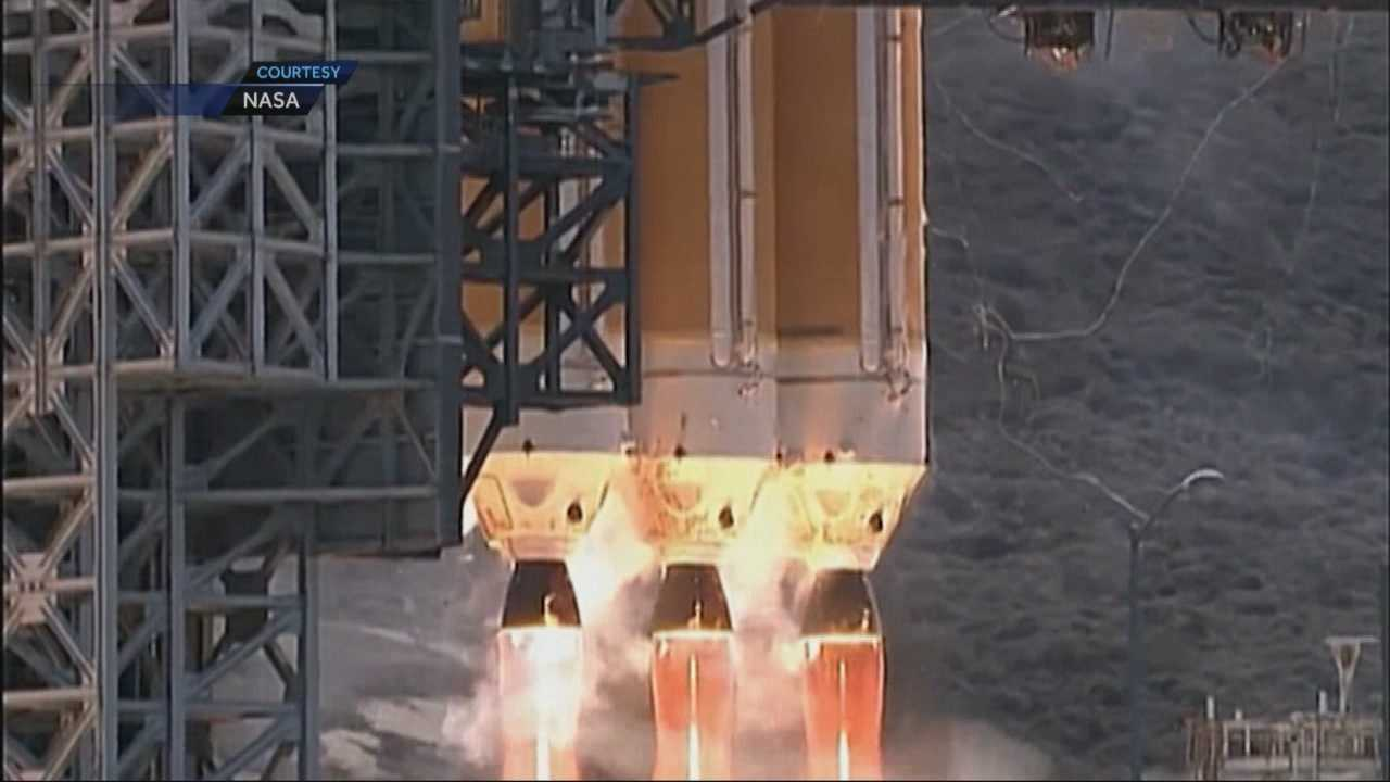 A married couple of rocket scientists will carefully be monitoring the test flight of NASA's Orion spacecraft Thursday.