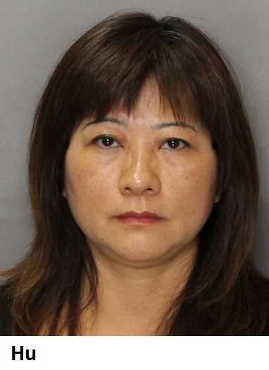 Folsom police said Yueting Hu was arrested on prostitution charges.