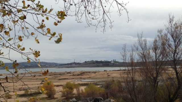 Folsom Lake is still more than two-thirds empty.