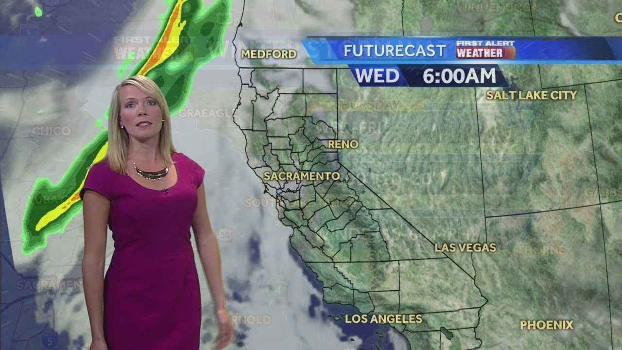 KCRA 3 First Alert Meteorologist Tamara Berg shows when to expect significant rain, wind and snow.