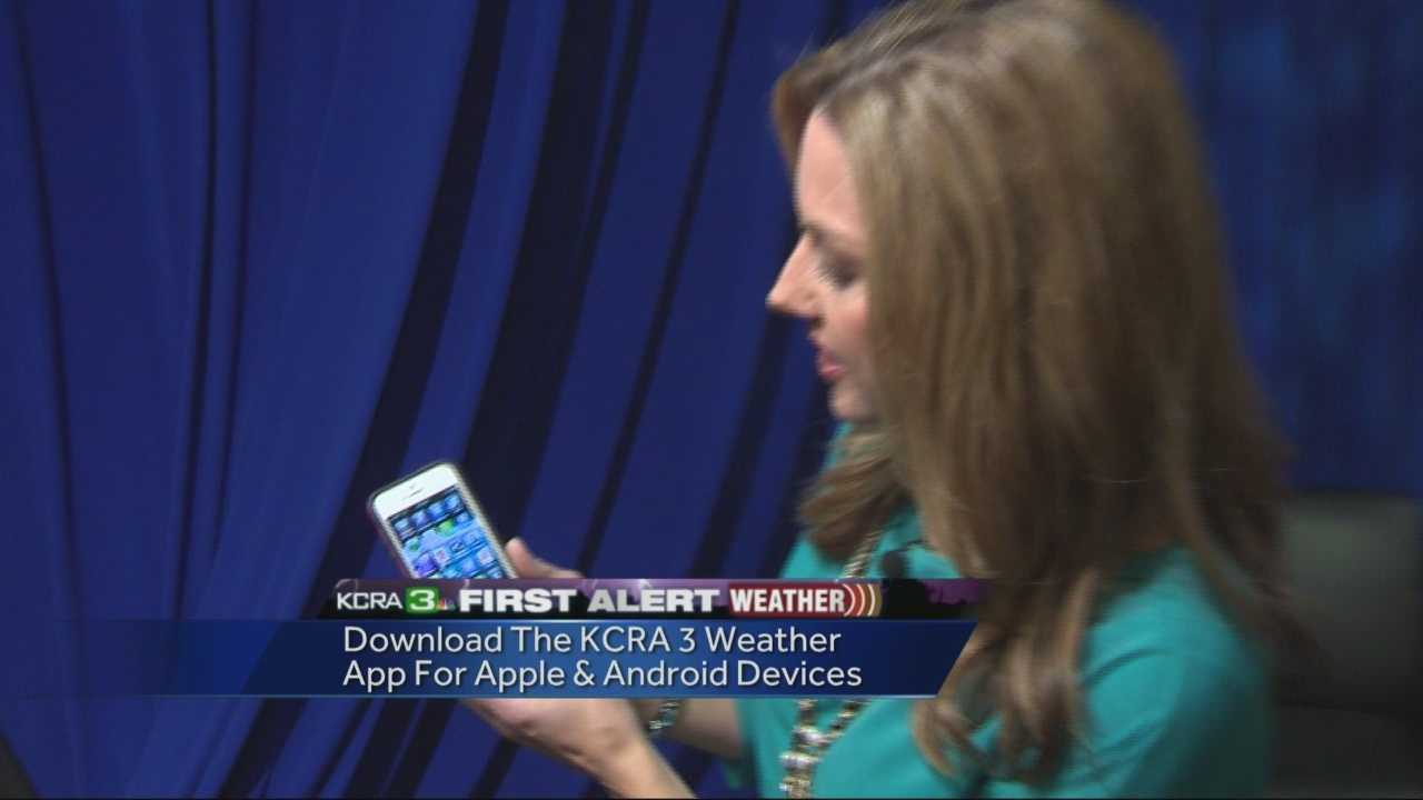 KCRA 3's Deirdre Fitzpatrick gives you a tour of the four must-use features on the new KCRA First Alert Weather app.