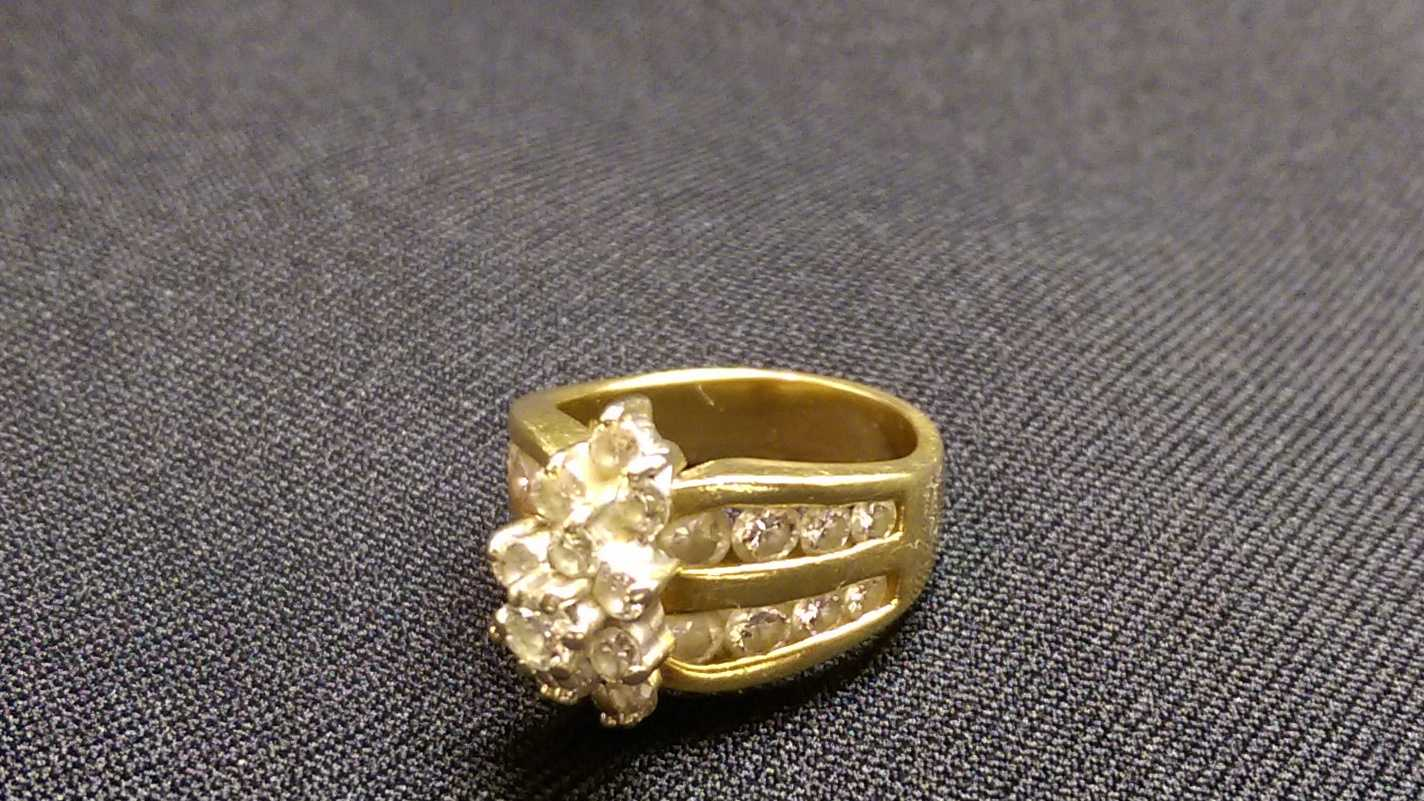 A 2-karat diamond ring was donated to the Salvation Army of Modesto.