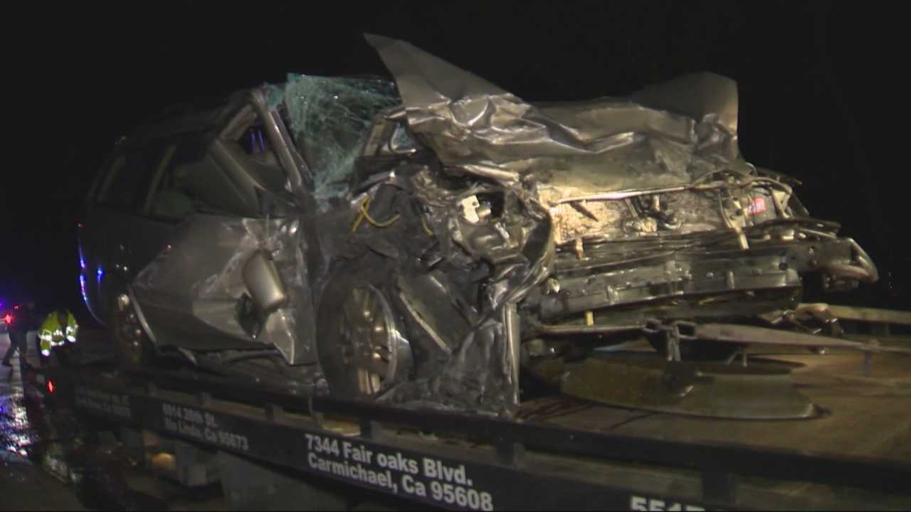 Officers: Speed a factor in crash.