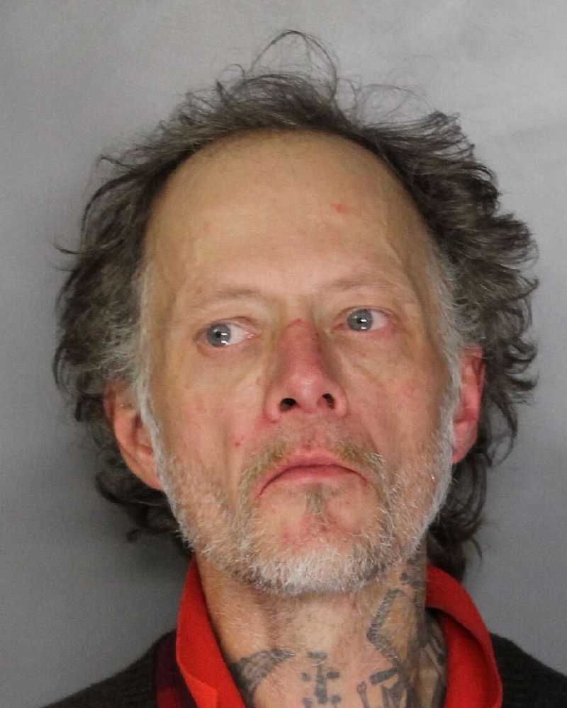 George Totten, 49, was arrested after officers responded to a bait bike he activated, police said. Totten faces multiple charges that include violation of his probation and grand theft.