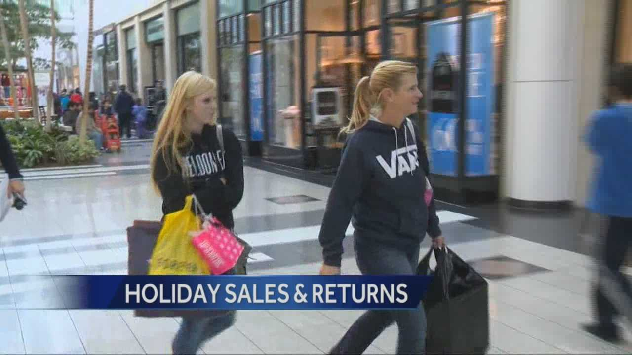 Northern Californians packed area malls on Friday looking for deals and to return holiday gifts.