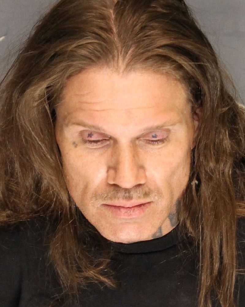 Joseph Bindi was arrested after deputies said he stabbed a canine officer when deputies searchedhis home, according to theSan Joaquin County Sheriff.