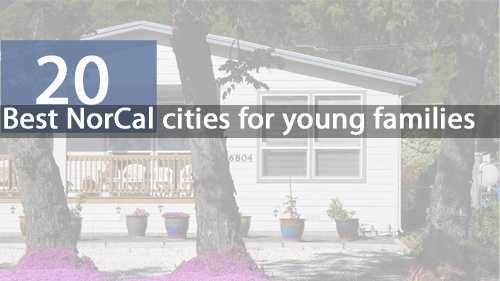 Check out the 20 best Northern California cities for young families, according to NerdWallet.com. NerdWallet used quality of schools, home affordability and growth prosperity for its rankings.