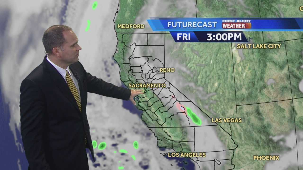 KCRA 3 First Alert Weather meteorologist Dirk Verdoorn shows what is going to warm our mornings and cool our afternoons.