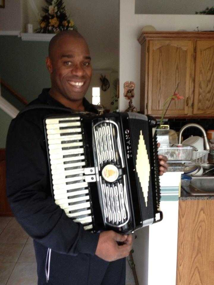 7.) I love jazz and blues and I do play the accordion -- just don't ask me to play polka or wear lederhosen.