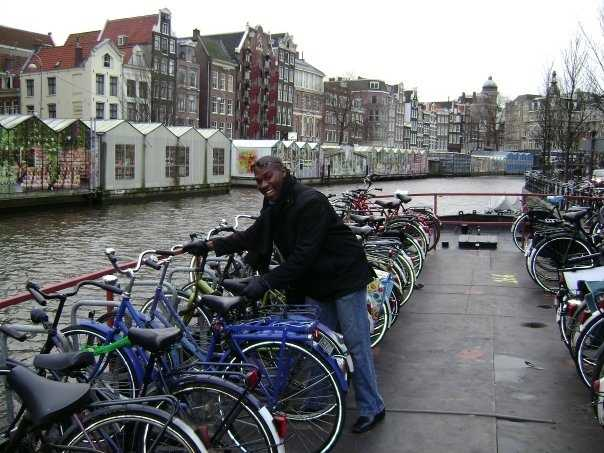 "10.) I speak some French (""Bonjour! Comment allez-vous?"") and even a little Dutch (""Hallo hoe gaat het!""). I've also visited Amsterdam. (And no, I wasn't stealing the bike!)"
