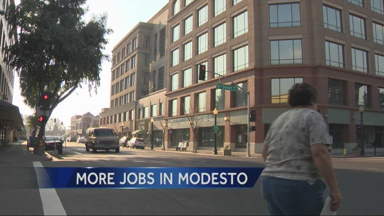 Modesto's economy is improving as new companies are moving into town and generating hundreds of new jobs.
