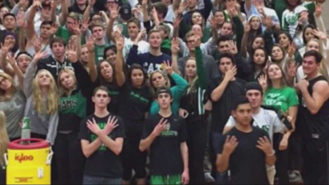 When a Tokay High School basketball player stood at the free-throw line last Friday night in a game against St. Mary's, he was greeted by a not-so-friendly chant.