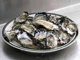 13.) Smoked oystersCost: $2.20