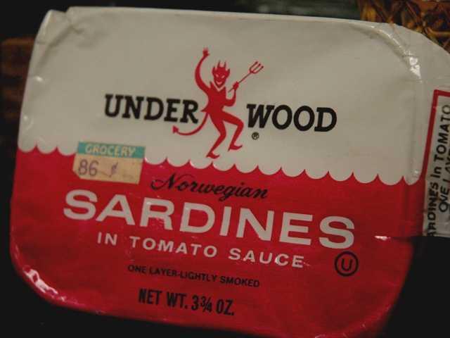 7.) SardinesCost: $1.20