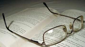 20.) Reading glasses (limit 1)Cost: $3.50