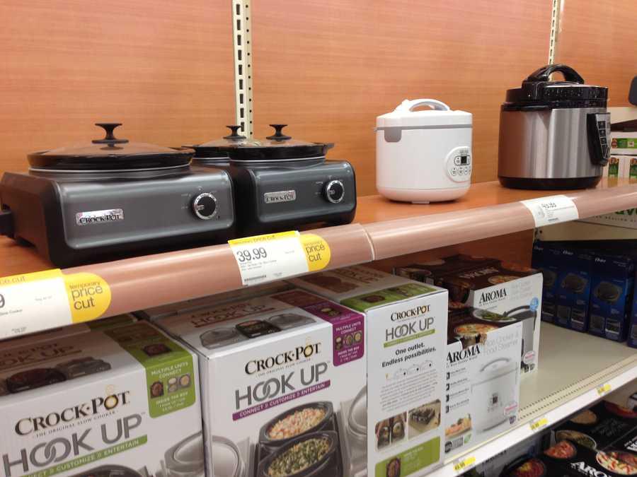 25.) Hot pot -- no warranty (limit 1)Cost: $23