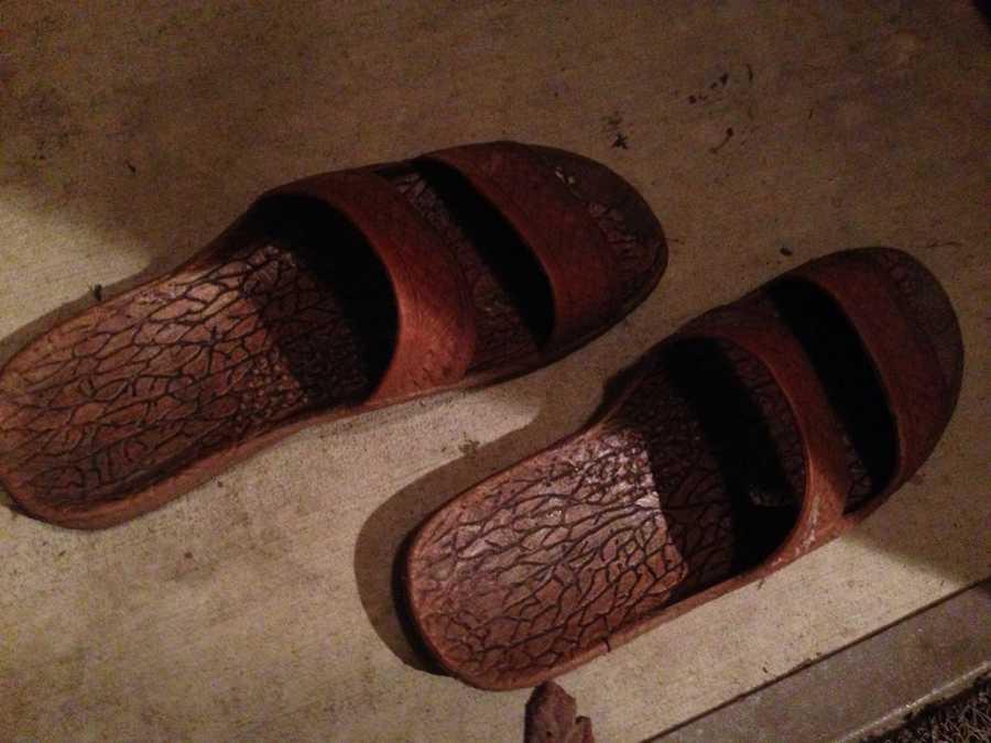 6). Shower shoes XXL (limit 1)Cost: $1.05