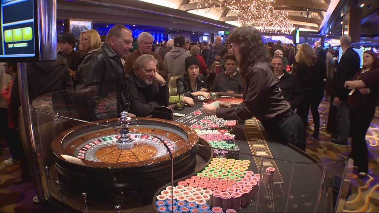 A grand opening was held Wednesday in South Lake Tahoe for the city's newest hotel/casino, the Hard Rock. Richard Sharp reports on the festivities and the expected business impact for the region.