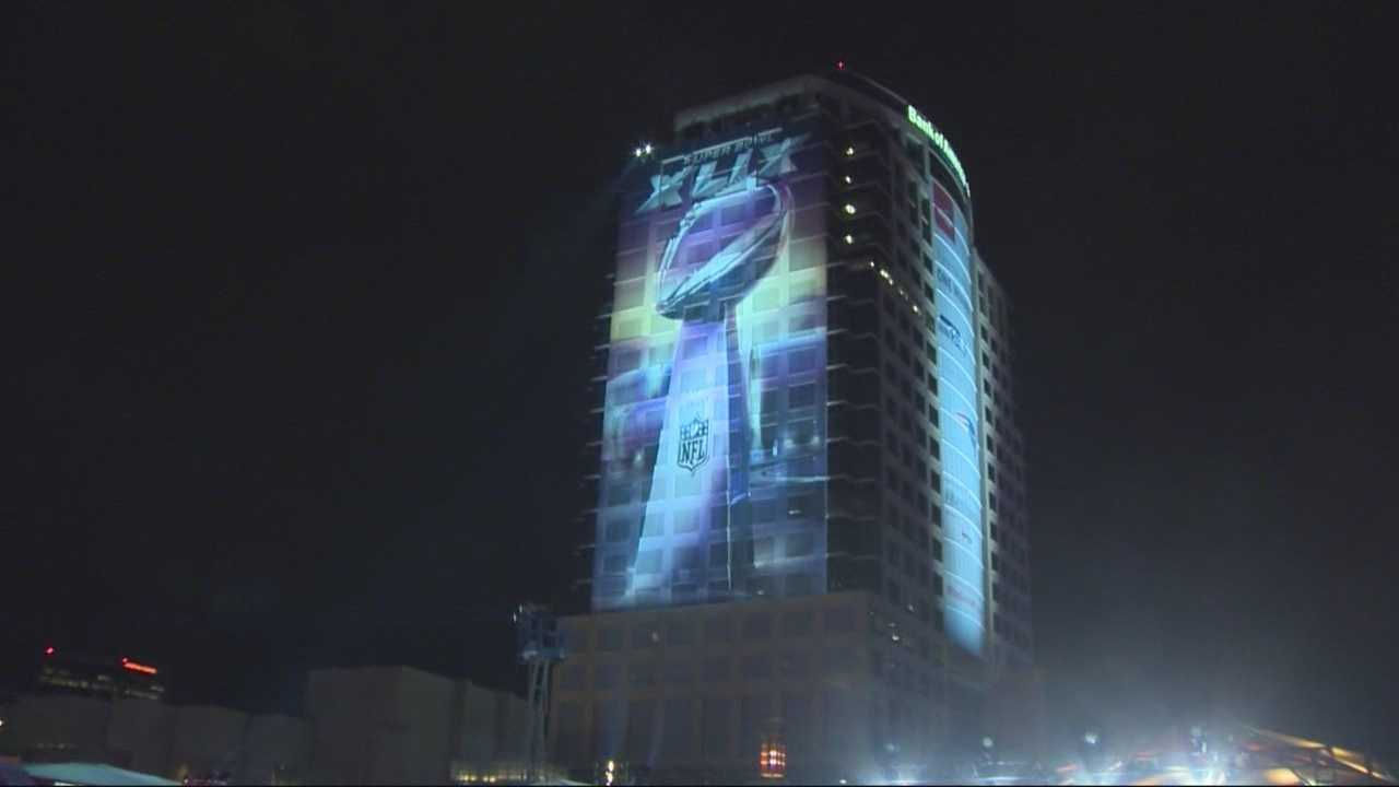 While Sunday's big game will be held in Glendale, nearby Phoenix has come alive each night with Super Bowl festivities.