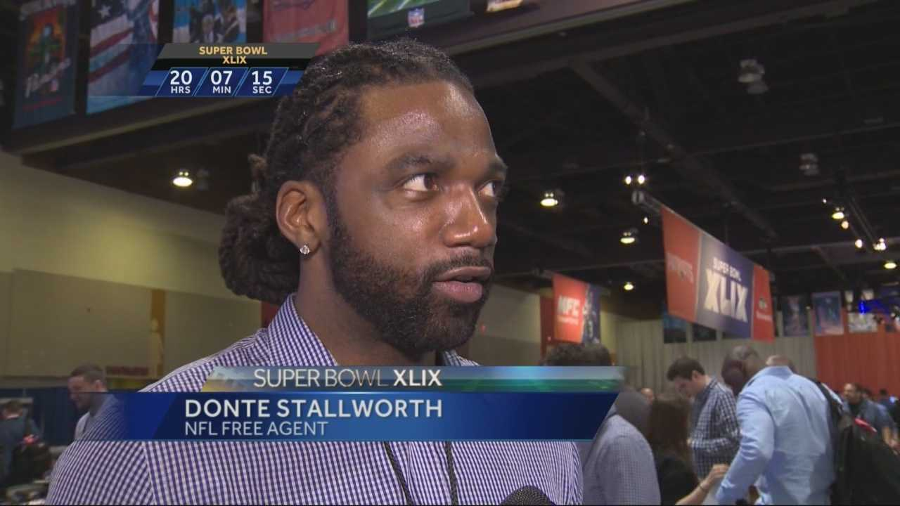 As KCRA's Michelle Dapper explains, Super Bowl week is a reunion for current and former NFL players.