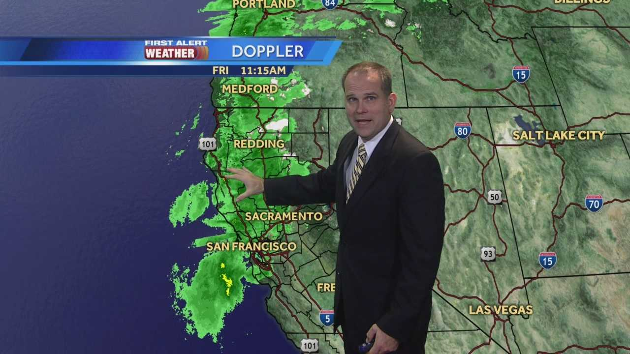 KCRA 3 First Alert Forecast meteorologist Dirk Verdoorn tracking today's wind and rain.