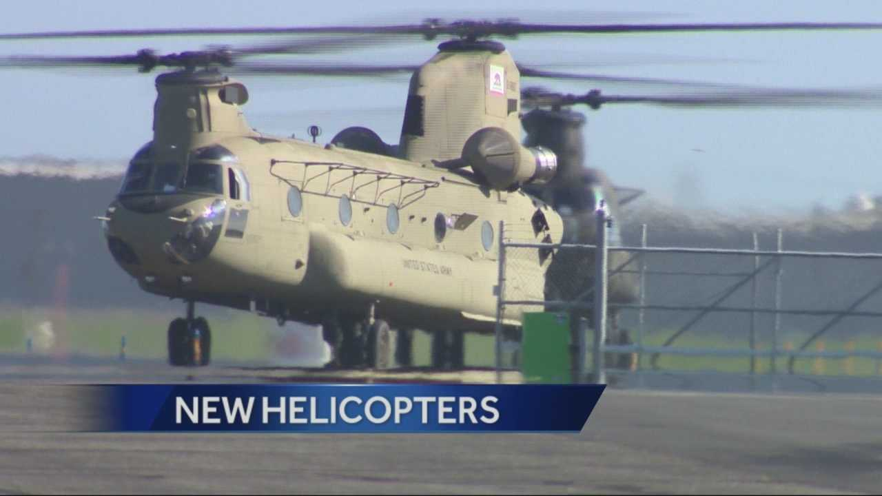 The California National Guard in Stockton will receive new Chinook helicopters that will increase its ability to save property and save lives.