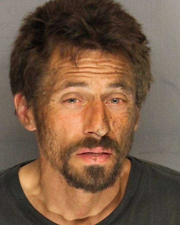 Jeffrey DelaCruz, 39, was arrested on suspicion of stealing roadway guardrail in Stockton, police said.