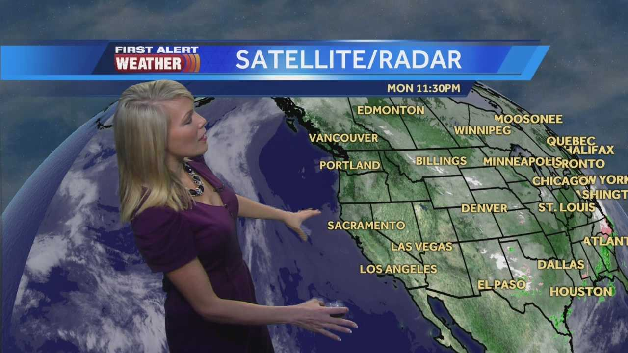 First Alert Weather Meteorologist Tamara Berg shows us how long the fog will linger and how warm temps will get.